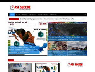 asisucede.com.mx screenshot