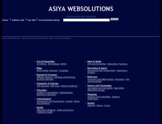asiyawebsolutions.com screenshot