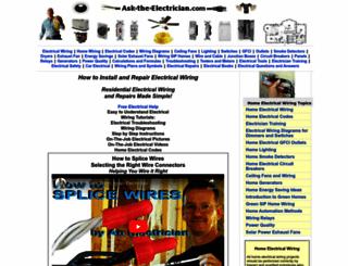 ask-the-electrician.com screenshot