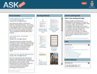 ask.brown.edu screenshot