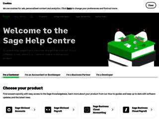 ask.sage.co.uk screenshot