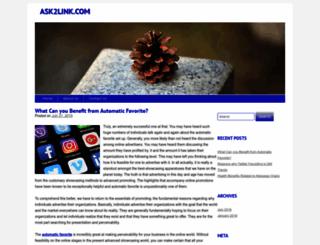 ask2link.com screenshot