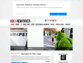 askanewyorker.com screenshot