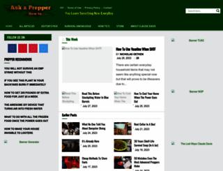 askaprepper.com screenshot