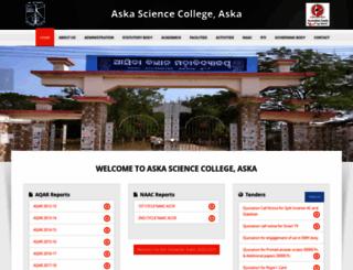 askasciencecollege.com screenshot