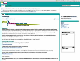 askaway.pbwiki.com screenshot