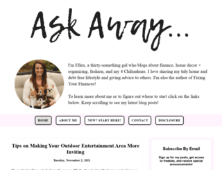 askawayblog.com screenshot
