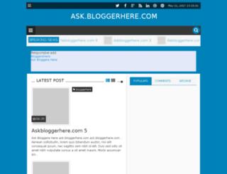 askbloggerhere.blogspot.in screenshot