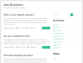 askbusiness.us screenshot