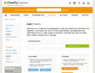 askcharity.org.uk screenshot