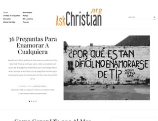 askchristian.org screenshot