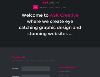 askcreative.co.uk screenshot