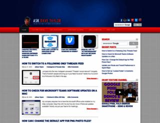 askdavetaylor.com screenshot