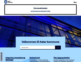 asker.kommune.no screenshot
