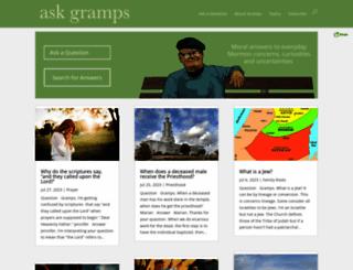 askgramps.org screenshot