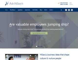askhillarys.com screenshot