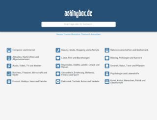 askingbox.de screenshot