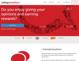 askingcanadians.com screenshot