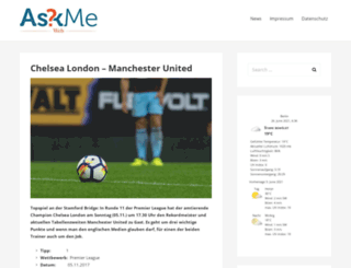 askmeweb.de screenshot