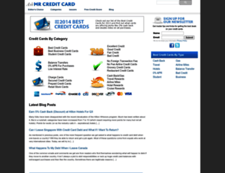 askmrcreditcard.com screenshot