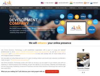 askonlinesolutions.com screenshot