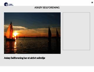 askoy-seilforening.no screenshot