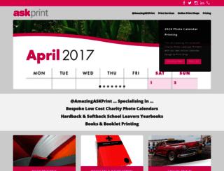 askprint.co.uk screenshot
