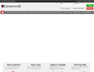 askquestion.extraminds.com screenshot
