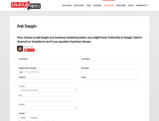 asksaygin.com screenshot