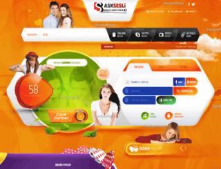 asksesli.com screenshot