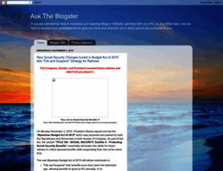 asktheblogster.blogspot.com screenshot