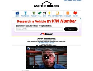 askthebuilder.com screenshot