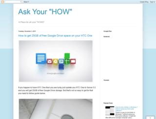 askyourhow.blogspot.in screenshot