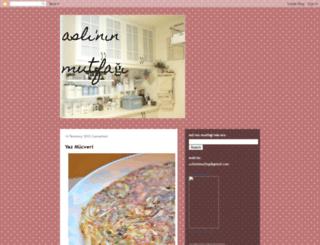 aslininmutfagi.blogspot.com.tr screenshot