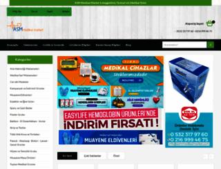 asmmedikalmarket.com screenshot