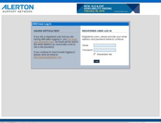asn.alerton.com screenshot