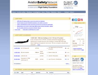 asndata.aviation-safety.net screenshot