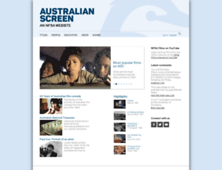 aso.gov.au screenshot