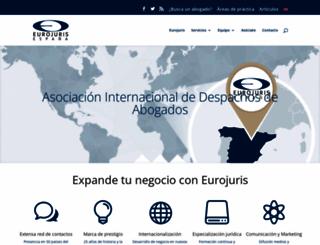 asociacion-eurojuris.es screenshot