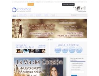 asociacionconciencia.org screenshot