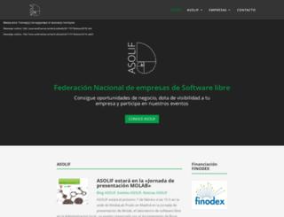 asolif.es screenshot