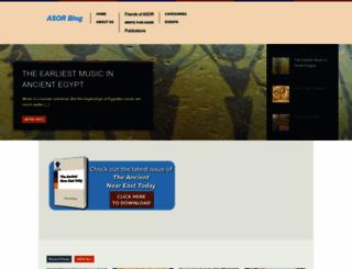 asorblog.org screenshot