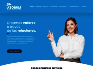 asorum.com.ar screenshot