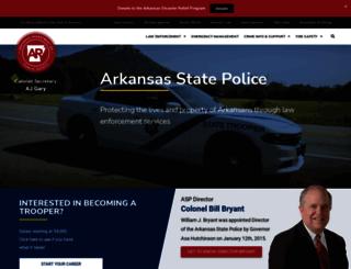 asp.arkansas.gov screenshot