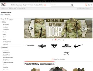 asp.tacticalgear.com screenshot