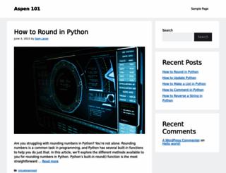asp101.com screenshot