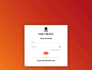 asp17.mailinblack.com screenshot