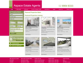 aspace.net.au screenshot