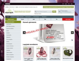 asparagus.hu screenshot
