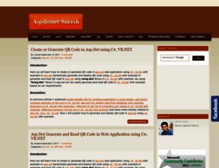 aspdotnet-suresh.com screenshot